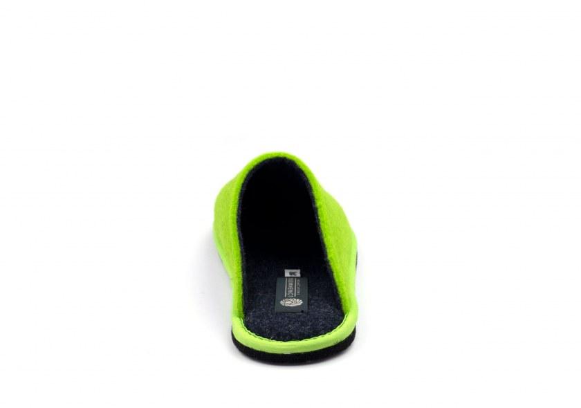Hygge Bicolore Hellgrün fluo - Blau