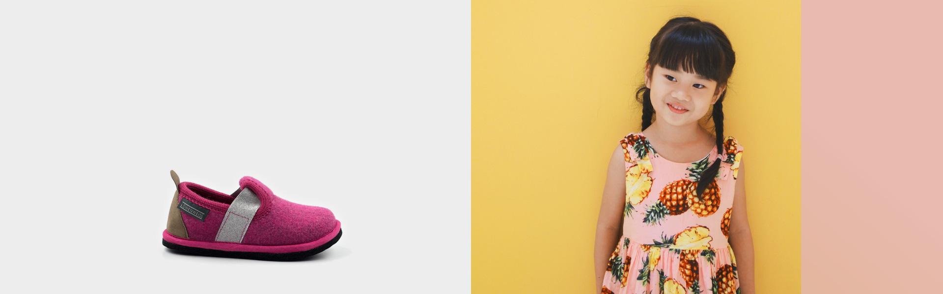 Pantofola bambino estate