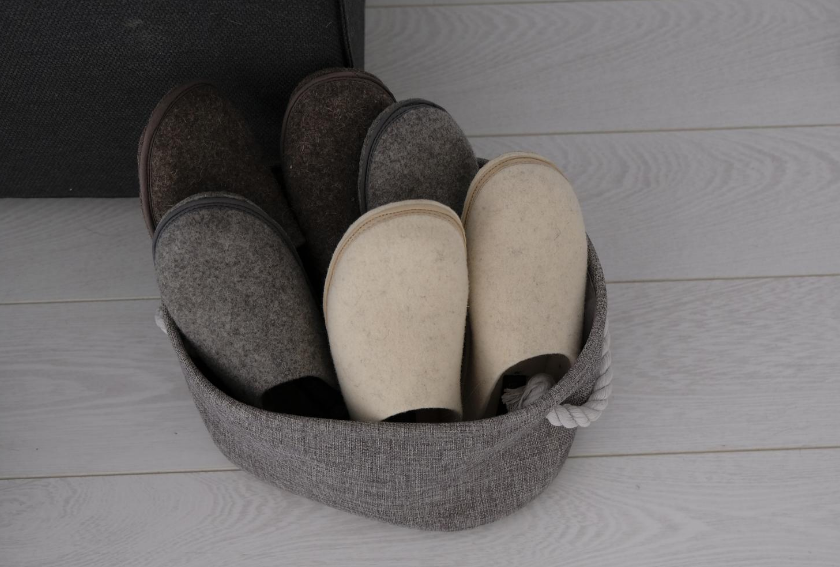 Comfortable yet stylish slippers for the whole family