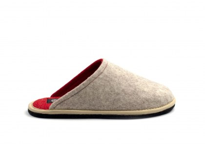 Hygge Bicolore Beige-Red