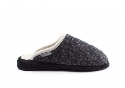 Homy bouclé Oxford black