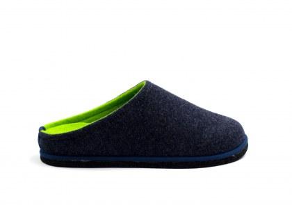 Easy Bicolore Bleu - vert fluo