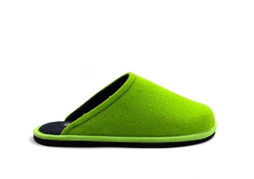 Hygge Bicolore Vert clair fluo - Bleu