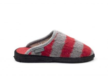 Homy treccia Limited Ed Rosso-grigio