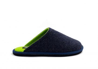Hygge Bicolore Blu - verde fluo
